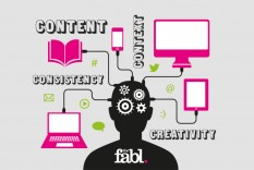 Content, context, consistency and creativity - by thefabl
