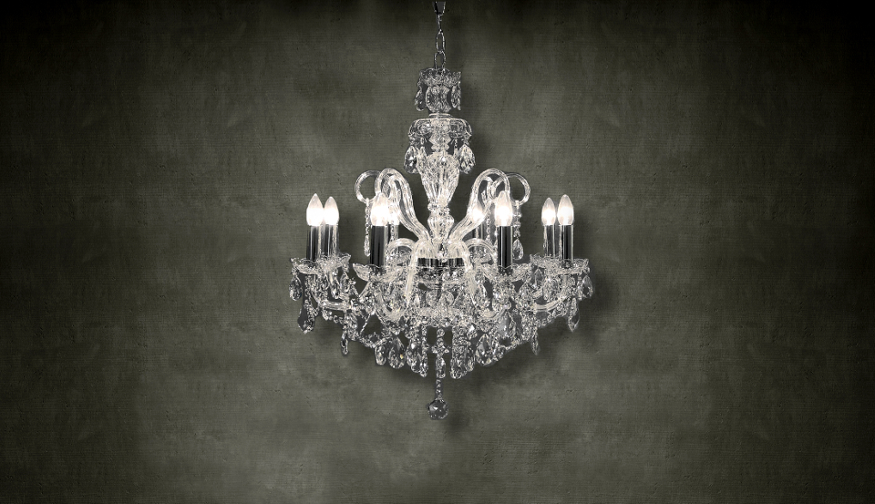 Is a chandelier too much? - by thefabl