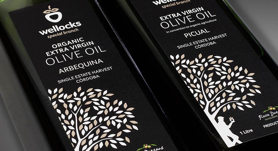 wellocks Arbequina oil